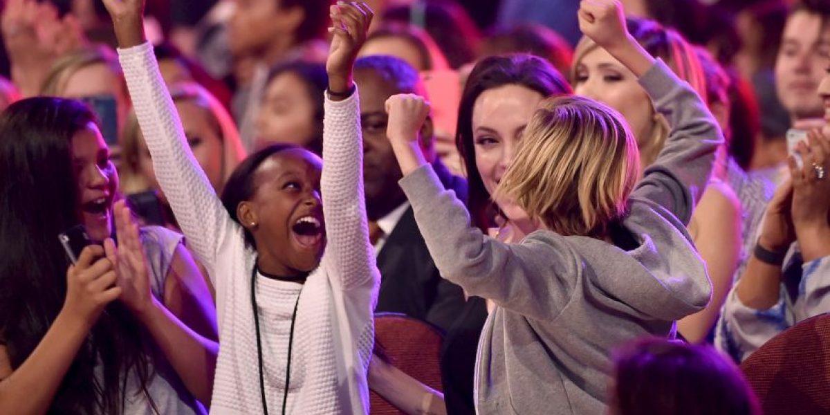FOTOS: Así se divierte Angelina Jolie con sus hijas Shiloh y Zahara