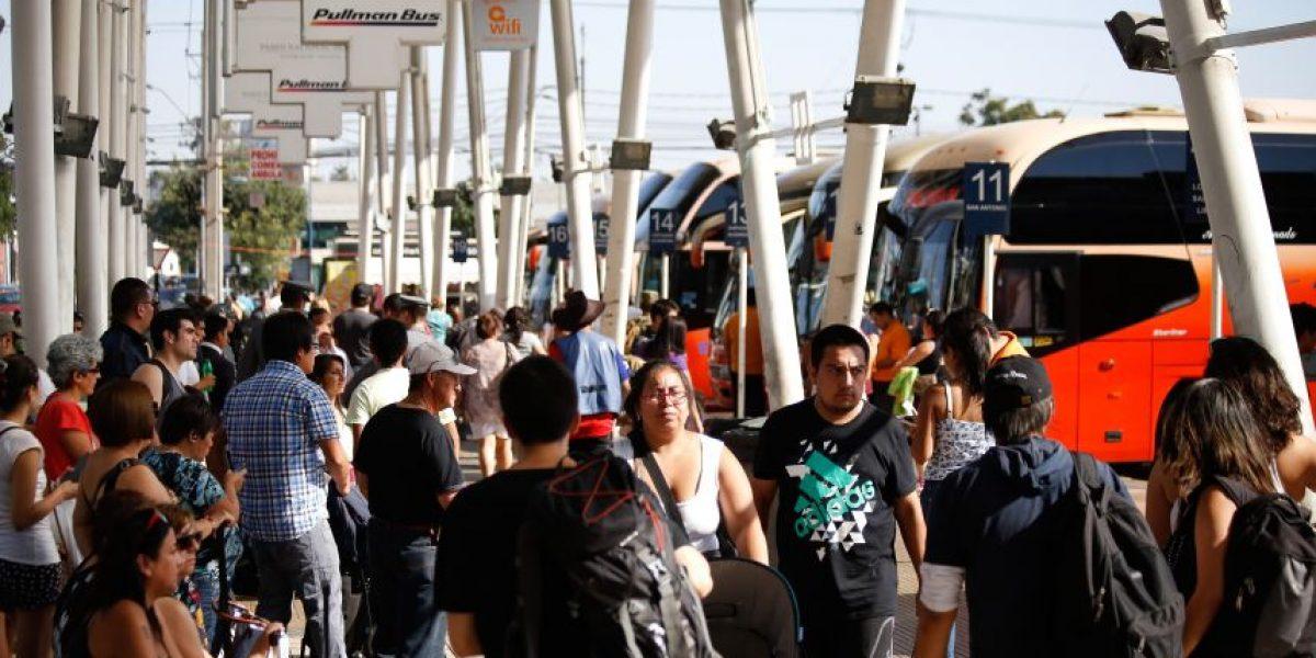 Se podría reanudar viajes de buses al norte tras catástrofe