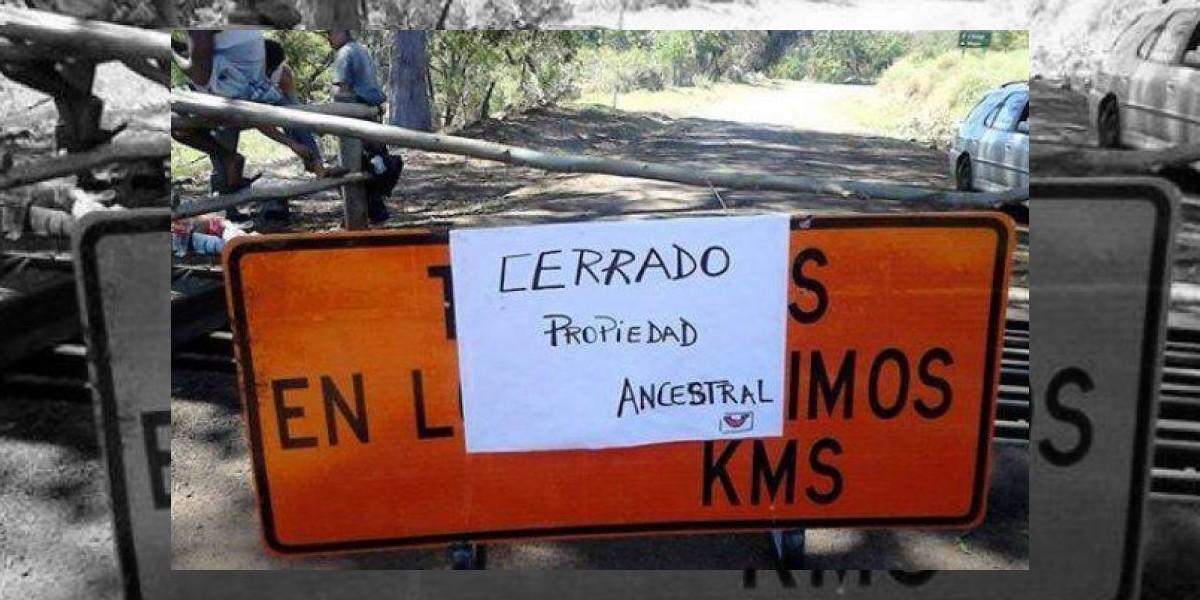 Habitantes de Rapa Nui bloquean caminos por retraso del Gobierno en presentar normativa de ingreso