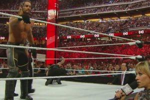 Espero el momento adecuado para cambiar el maletín con Dinero en el Banco por una oportunidad titular Foto:WWE. Imagen Por: