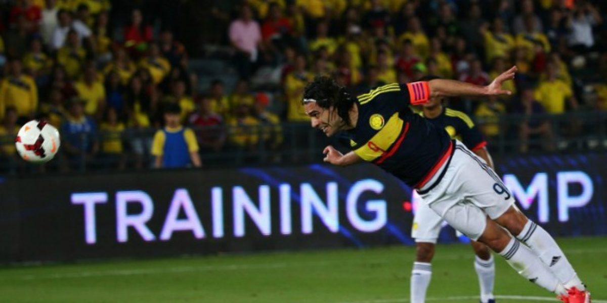 Falcao se convirtió en hombre récord en victoria de Colombia sobre Kuwait