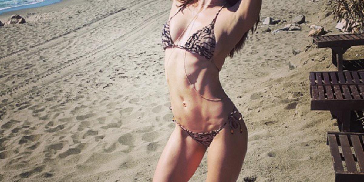 Ex novia de Nicolás Massú sorprendió posando sin ropa para una revista