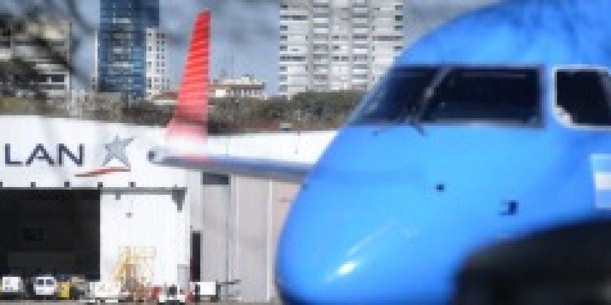 LAN cancela vuelos en Argentina