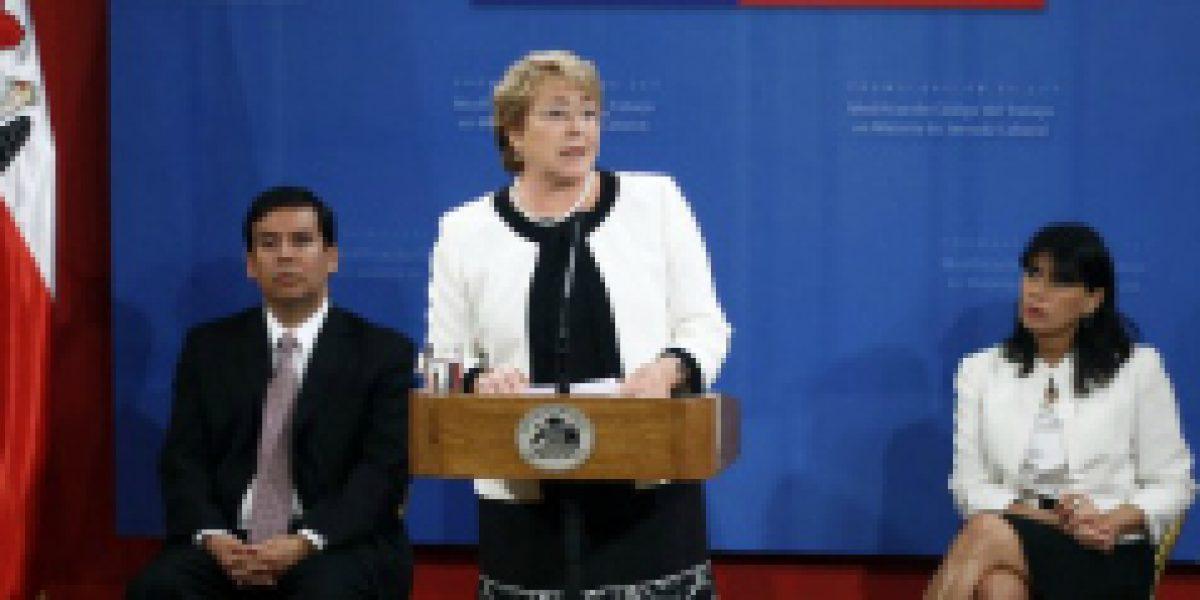 Presidenta Bachelet promulga nueva ley de domingos libres