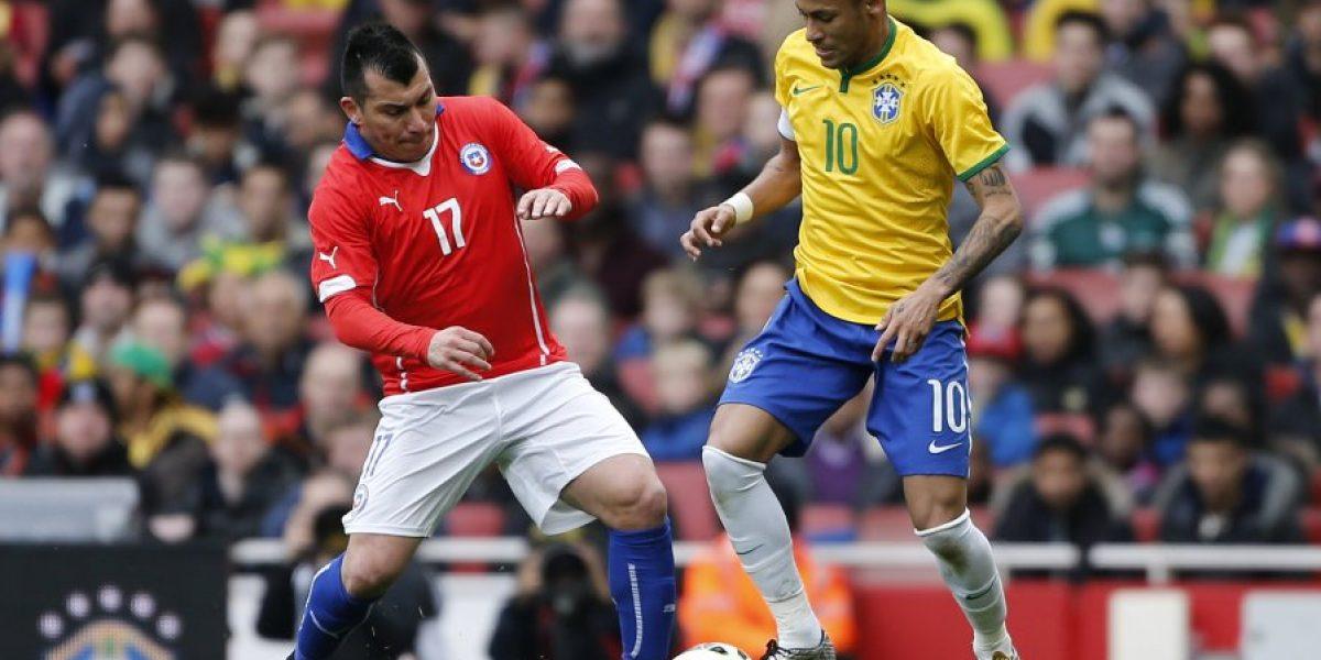 Prensa internacional reprobó pisotón de Gary Medel a Neymar