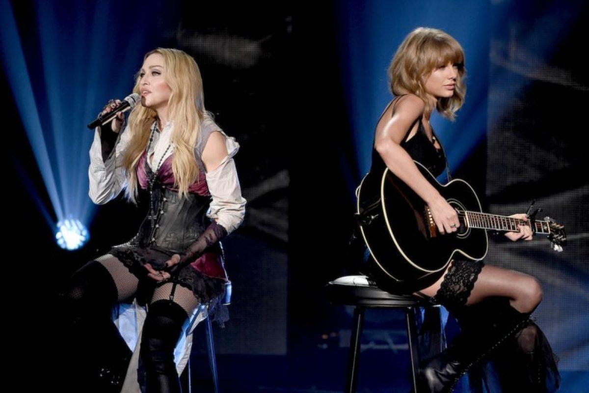 Madonna y Taylor Swift juntas Foto:Getty. Imagen Por: