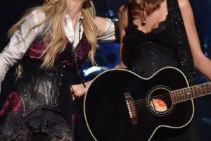 Juntas durante la premiación de los iHeart Radio Music Awards Foto:Getty. Imagen Por: