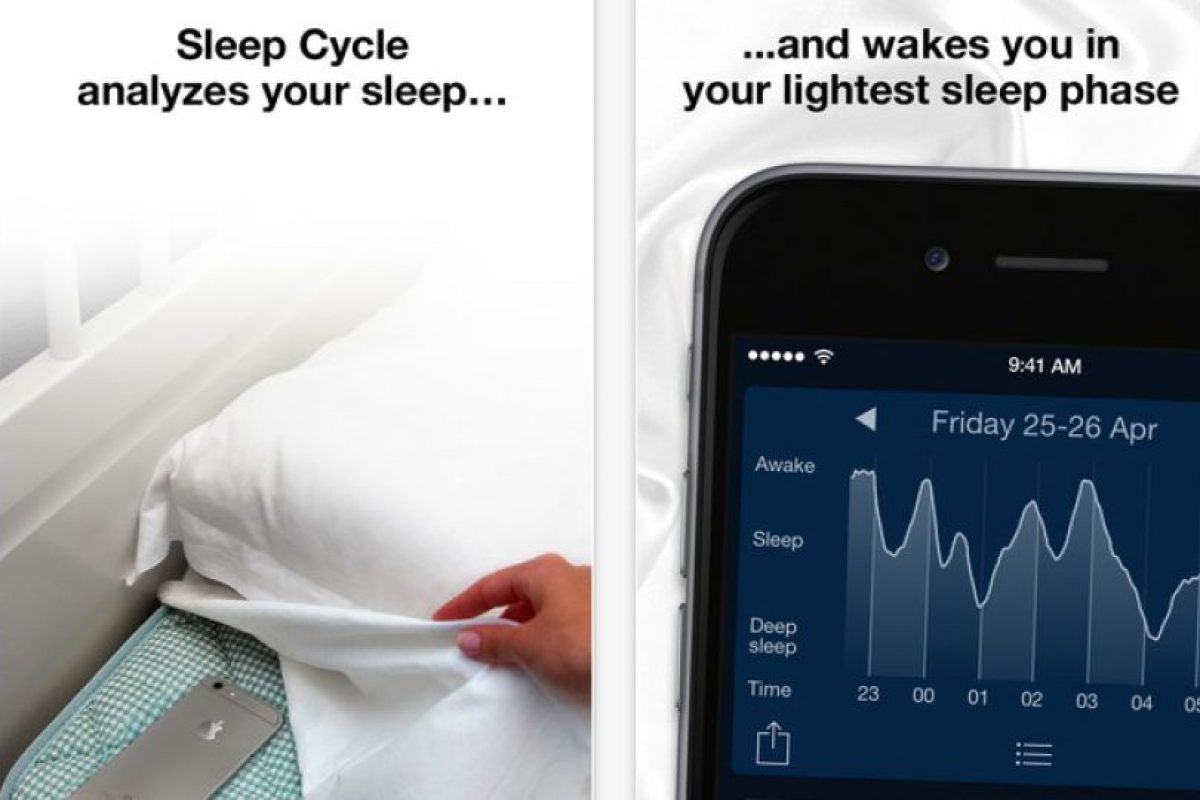 Funciona poniendo el smartphone debajo de la cama y la aplicación hará su trabajo sola. Foto:Northcube AB. Imagen Por: