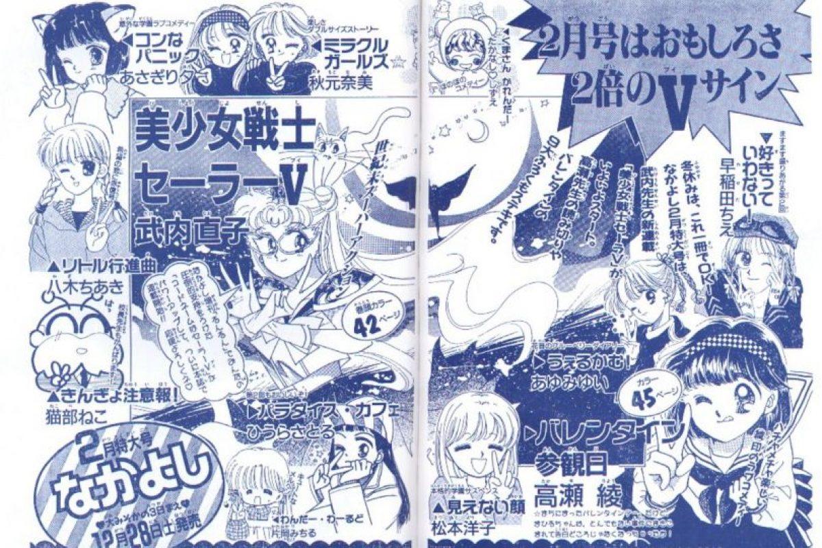En un capítulo, Rini aparece leyendo la revista Nakayoshi, magazine que ha publicado los trabajos de Naoko Takeuchi. Foto:Nakayoshi. Imagen Por: