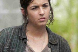 "Alanna Masterson es ""Tara Chambler"" Foto:AMC. Imagen Por:"