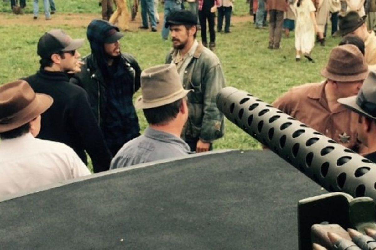 Escenas de la grabación del filme Foto:Instagram James Franco. Imagen Por: