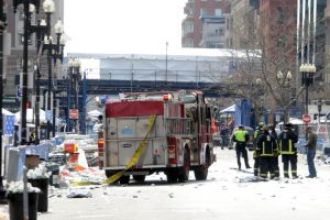 El lunes, 15 de abril 2013, el maratón de Boston se inició sin ningún indicio de un ataque inminente Foto:Getty. Imagen Por: