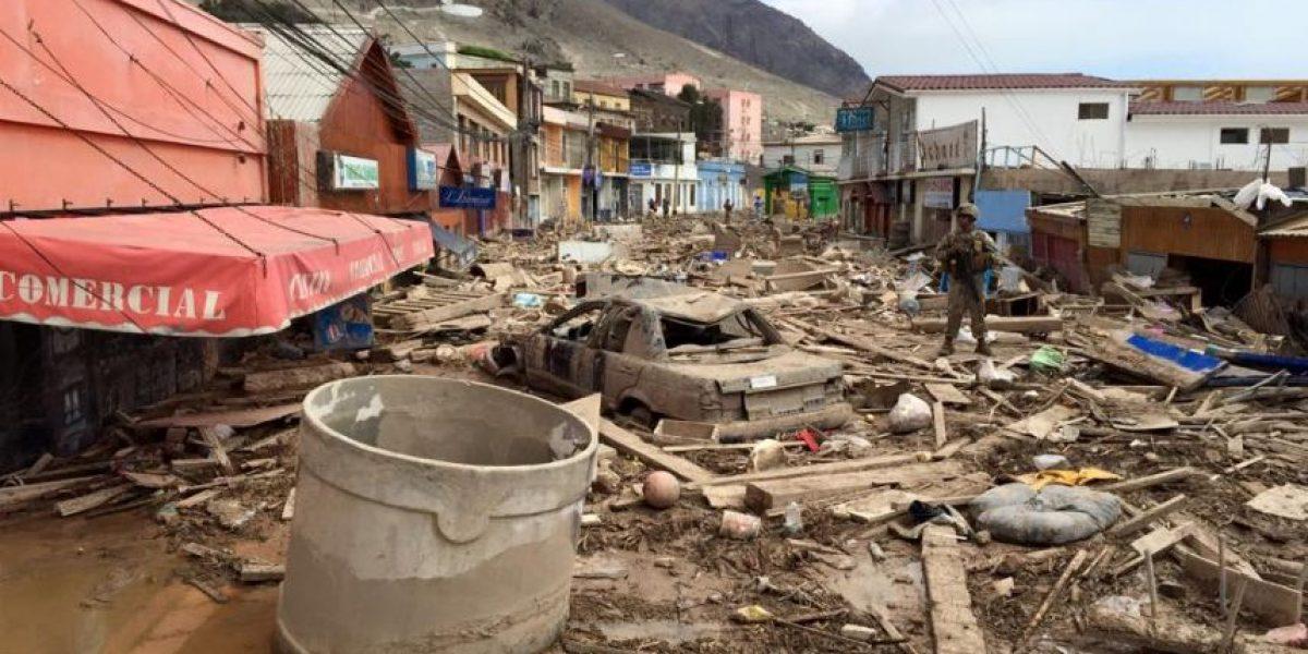Impactante: así quedó Copiapó y Chañaral tras la tragedia del norte