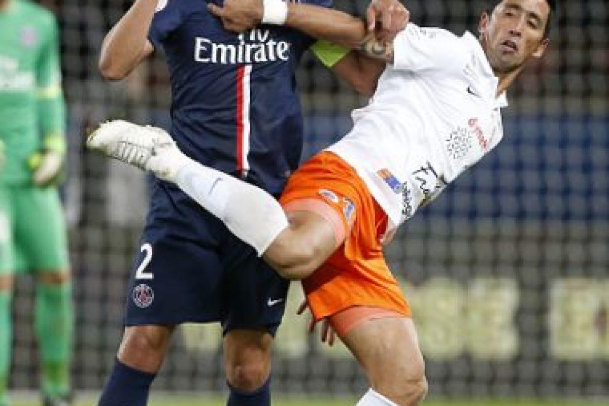 8. Lucas Barrios (Montpellier/Francia) Foto:Getty Images. Imagen Por: