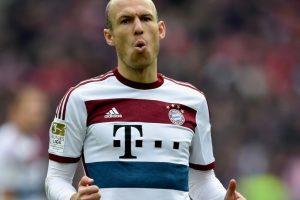2. Arjen Robben (Bayern Munich/Alemania) Foto:Getty Images. Imagen Por: