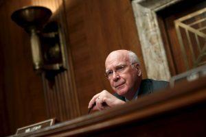 """El senador Patrick Leahy ya ha actuado en otras películas de """"Batman"""". Foto:Getty. Imagen Por:"""