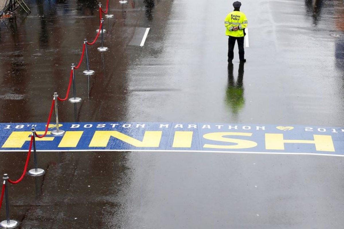 La meta fue el lugar donde estalló la bomba que mató a dos personas. Foto:Getty. Imagen Por: