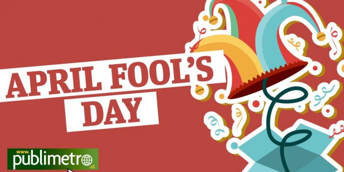Infografía: El día de los bromistas
