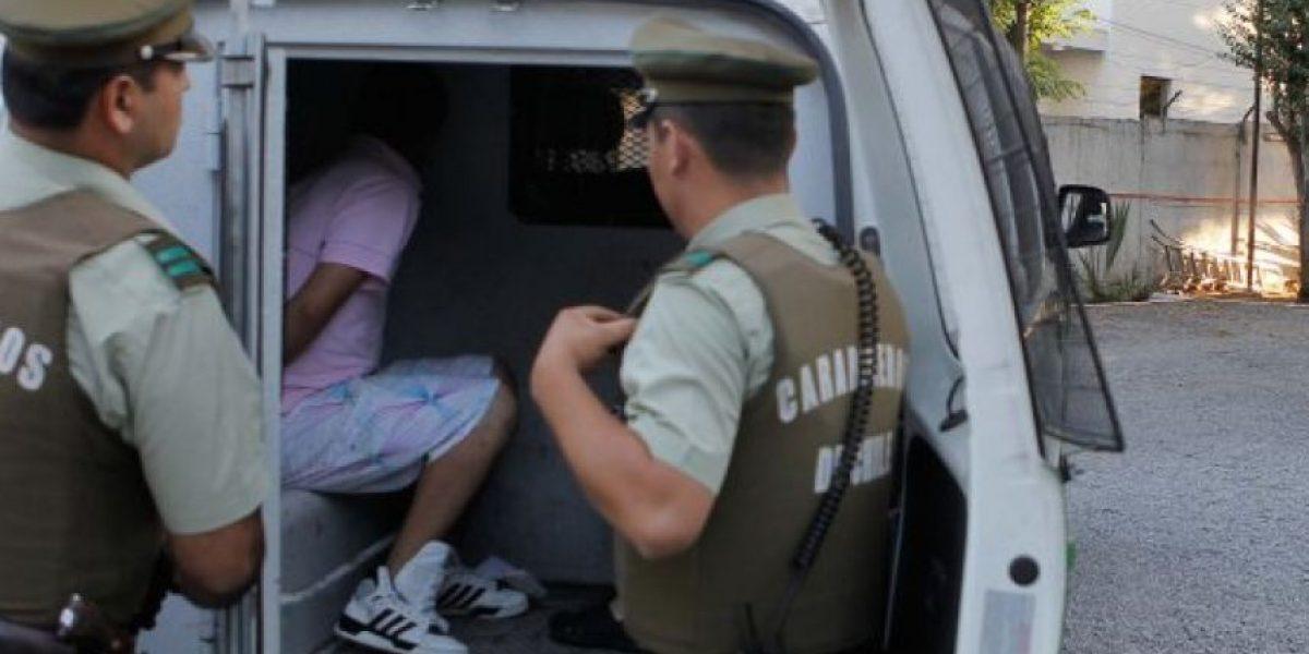 San Miguel: arrestan a sujeto tras atacar a tiros a Carabineros