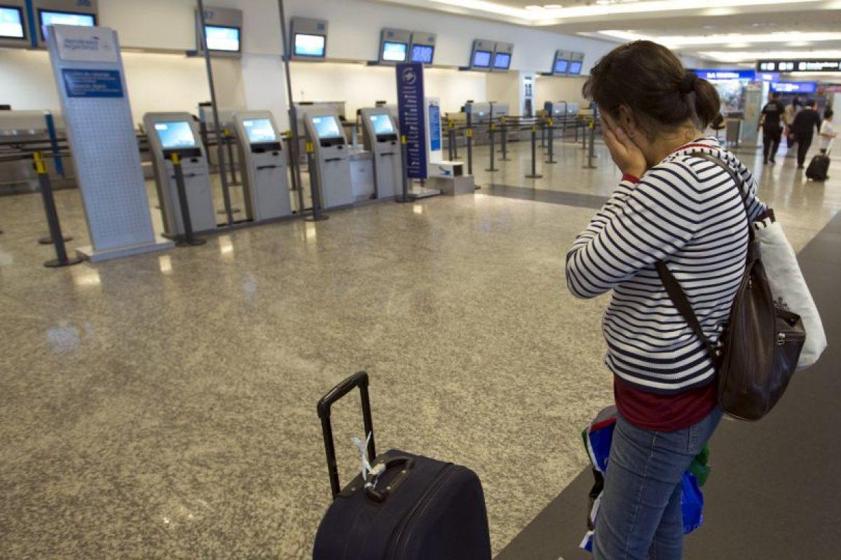 Argentinos no tienen modo de viajar a causa de la huelga. Foto:AP. Imagen Por: