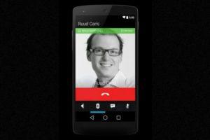 La interfaz cuando realizan una llamada. Foto:Android World. Imagen Por: