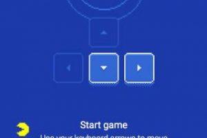 Pac-Man se controla con las flechas en el teclado. Foto:Google Maps. Imagen Por: