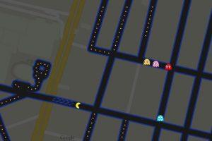 Pac-Man está invadiendo las calles del mundo en Google Maps. Foto:Google Maps. Imagen Por: