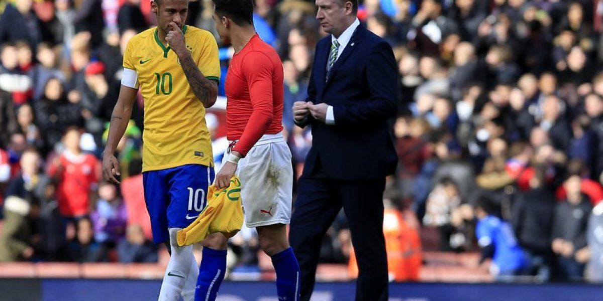 Neymar sobre Alexis: