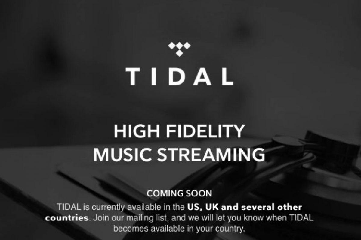 Tidal tiene un costo por sus servicios de 19.99 dólares mensuales. Foto:tidal.com. Imagen Por: