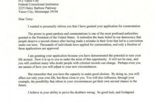 Declaración del indulto Foto:Vía Twitter @WhiteHouse. Imagen Por: