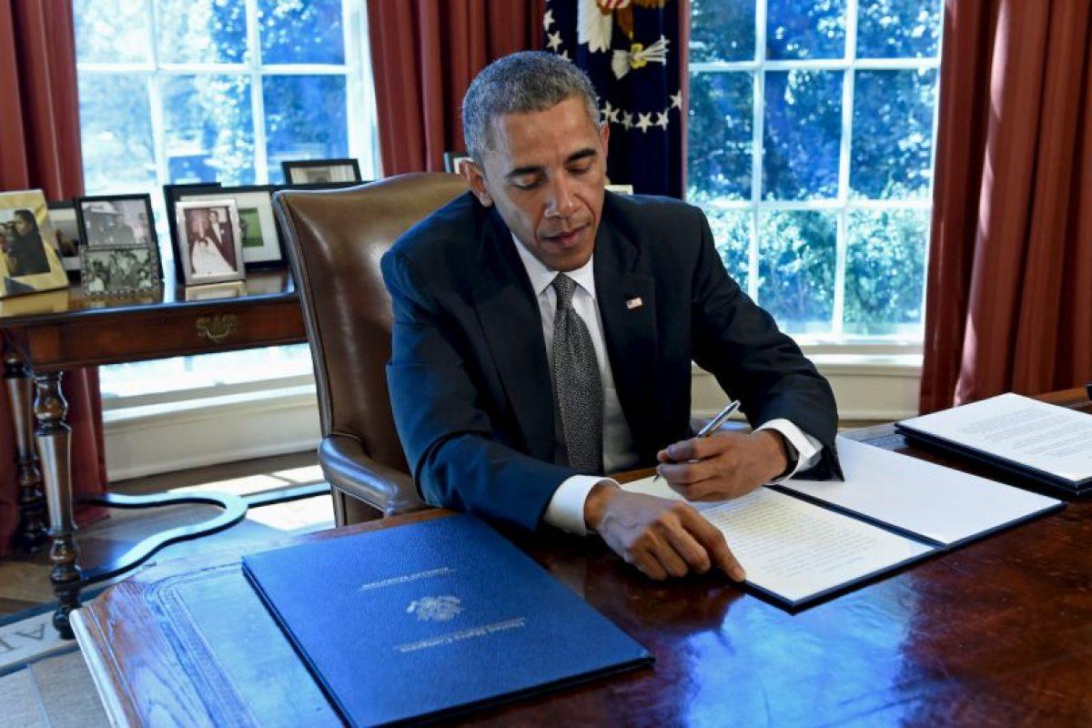 Obama ha otorgado 32 conmutaciones más que George W. Bush Foto:AFP. Imagen Por: