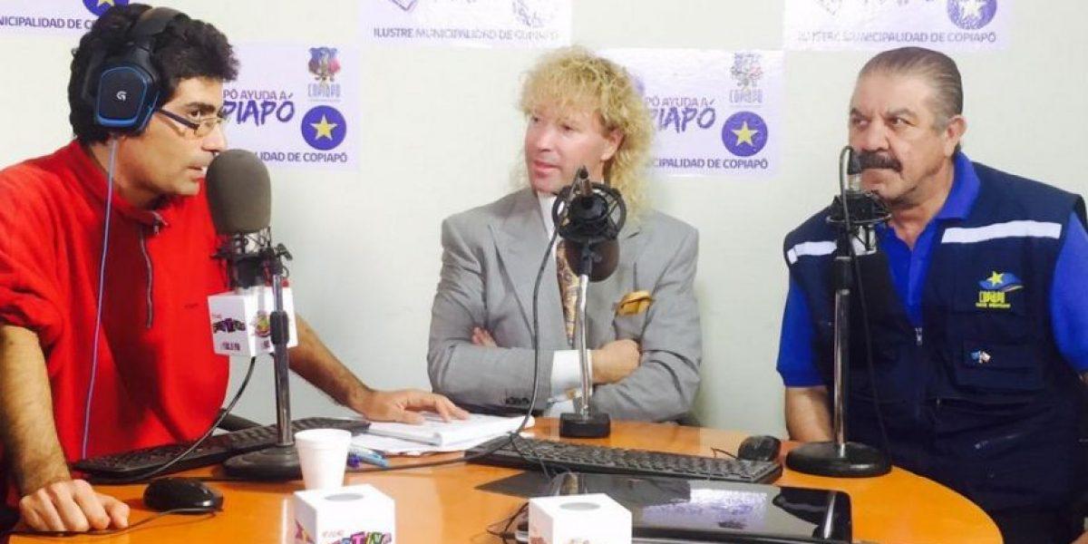 $800 millones en ayuda: caravana de Leonardo Farkas llega a Copiapó