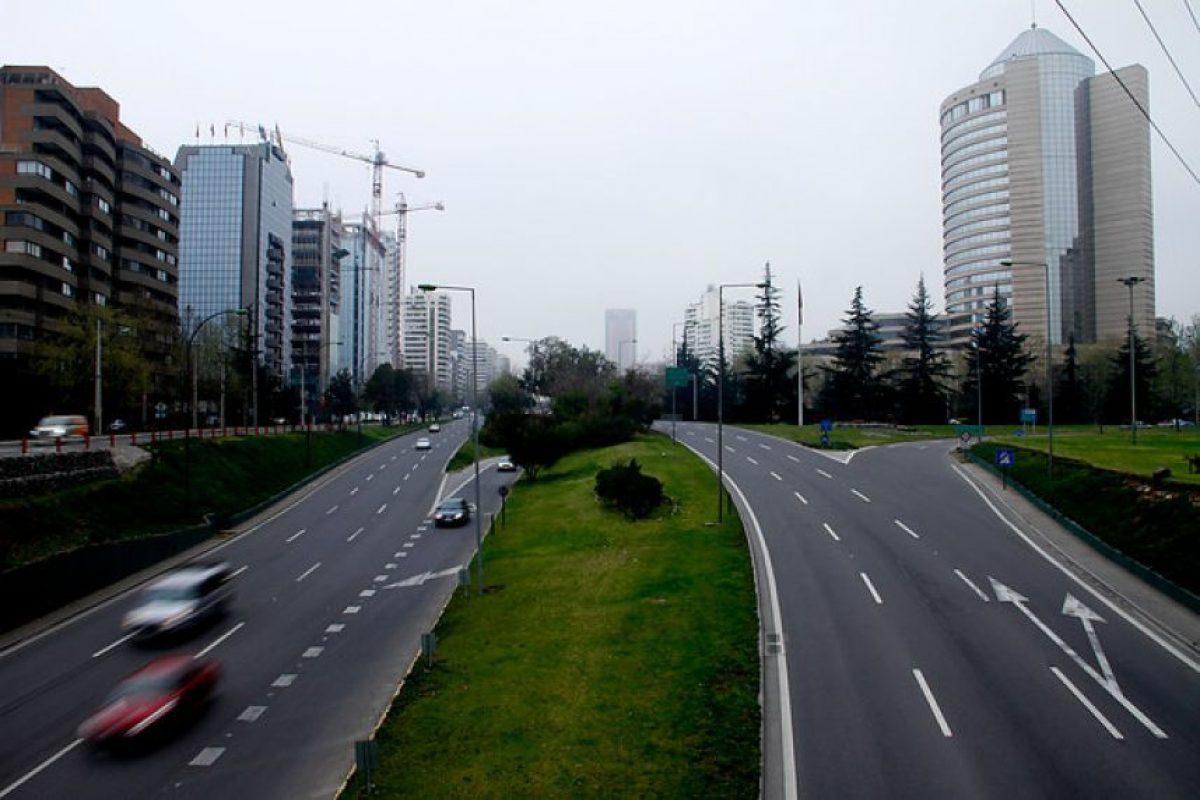 El sector oriente de la capital es el que tiene mayores índices de áreas verdes del Gran Santiago. Foto:Agencia UNO. Imagen Por: