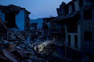 Así se vivió en el país el segundo terremoto, réplica del sismo del 25 de abril Foto:Getty Images. Imagen Por: