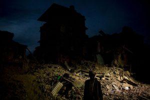 La cifra de muertos por el primer sismo supera las ocho mil personas Foto:Getty Images. Imagen Por: