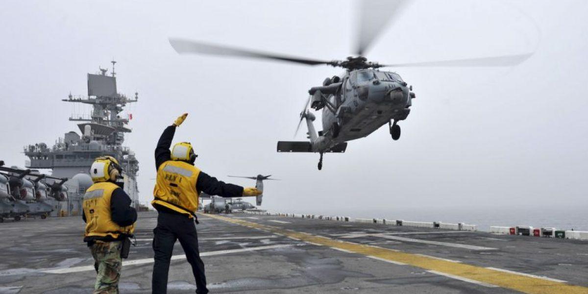 Desaparece helicóptero de la Marina estadounidense en Nepal