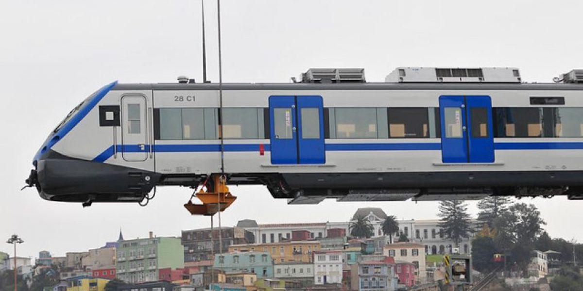 Metro de Valpo tiene nuevos trenes