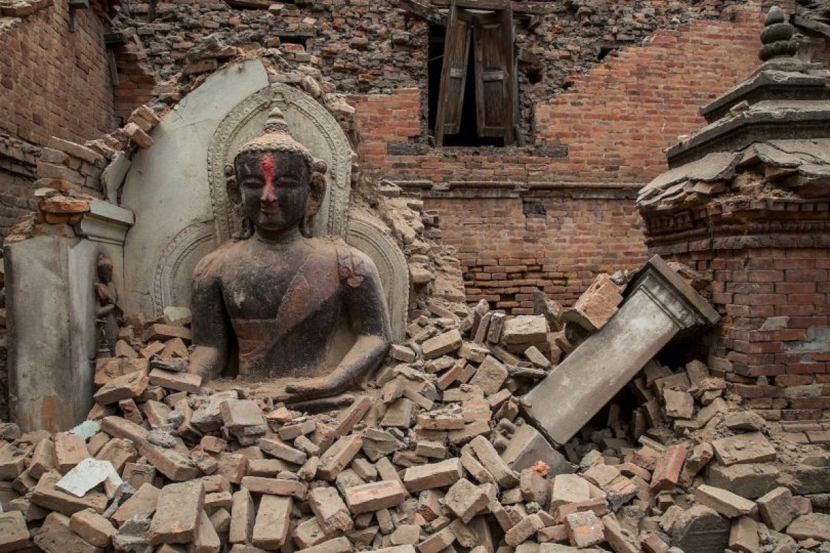 19. Ramechhap, Nepal. 12 de mayo. Magnitud 6.3 Foto:Getty Images. Imagen Por: