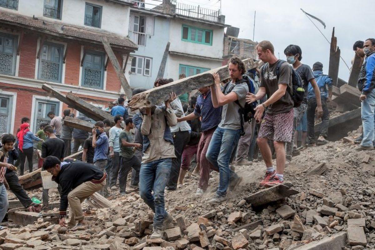 18. Kodari, Nepal. 12 de mayo. Magnitud 7.3 Foto:Getty Images. Imagen Por: