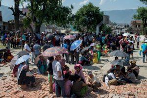 8. Kodari, Nepal. 26 de abril. Magnitud 6.7 Foto:Getty Images. Imagen Por:
