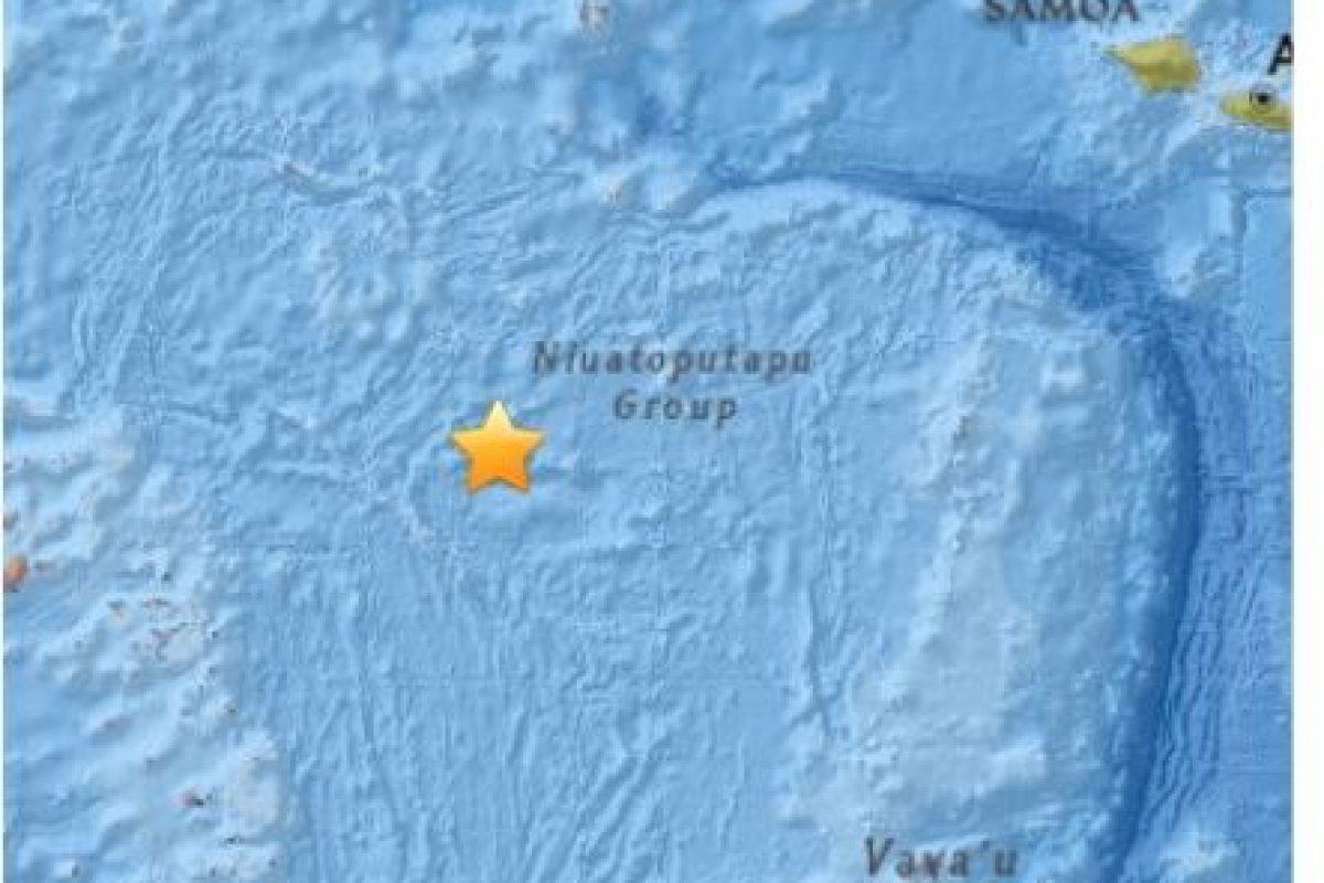 2. Islas Wallis y Futuna, 17 de abril. Magnitud: 6.5 Foto:Earthquake.usgs.gov. Imagen Por: