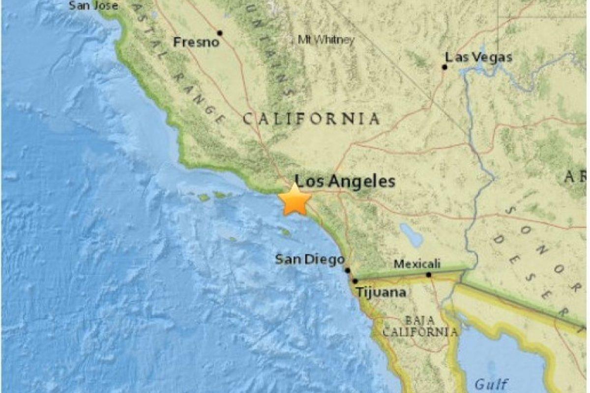 10. Carson, California. 30 de abril. Magnitud 3.4 Foto:Earthquake.usgs.gov. Imagen Por: