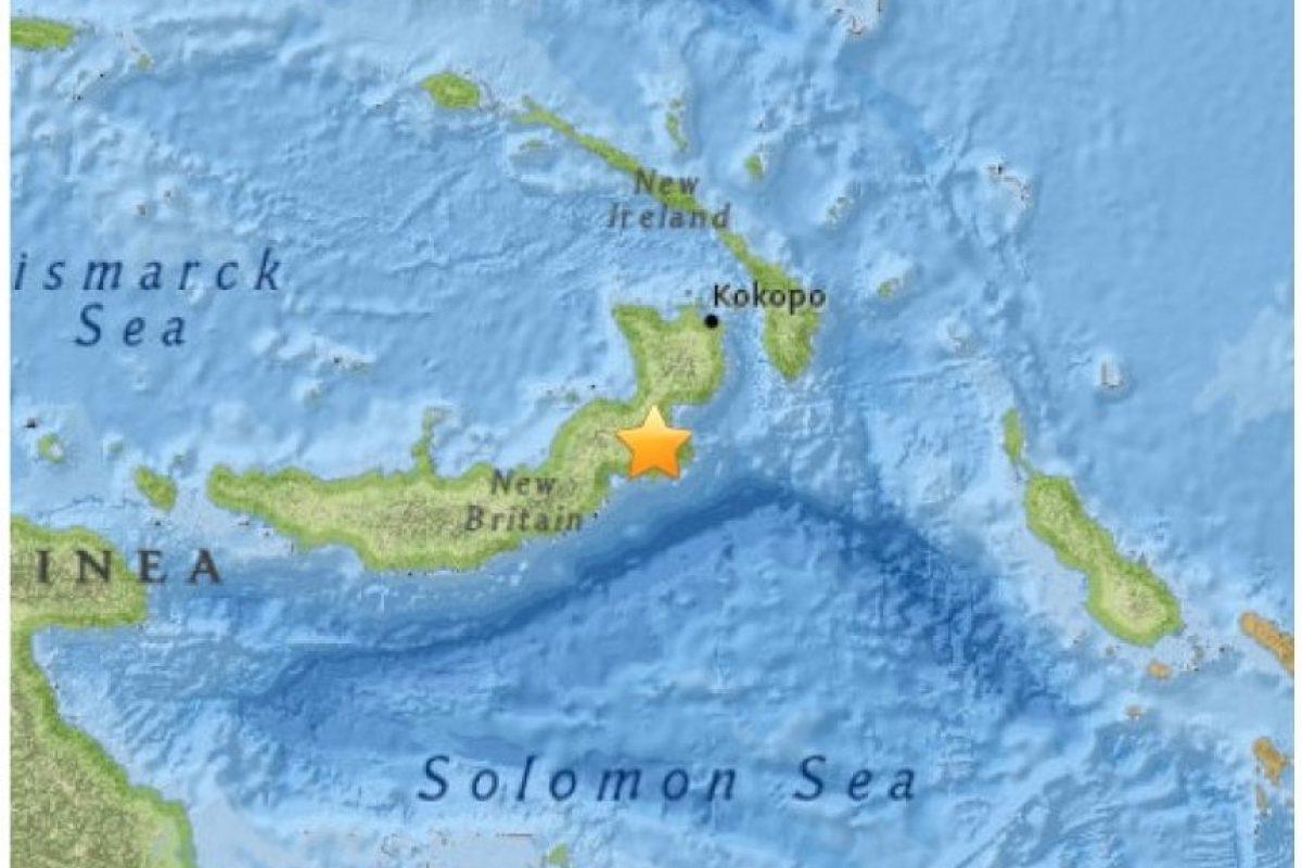 11. Papúa y Nueva Guinea. 1 de mayo. Magnitud 6.8 Foto:Earthquake.usgs.gov. Imagen Por: