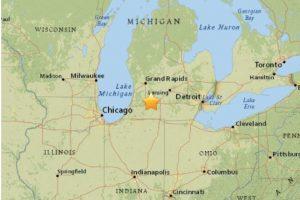 12. Michigan, 2 de mayo. Magnitudf 4.2 Foto:Earthquake.usgs.gov. Imagen Por: