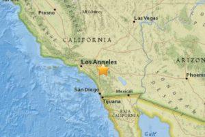 16. San Jacinto, California. 6 de mayo. Magnitud 3.7 Foto:Earthquake.usgs.gov. Imagen Por: