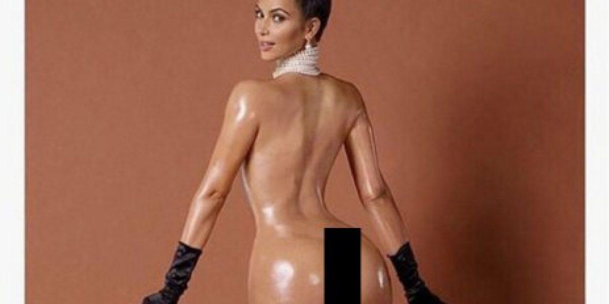 Estas son las 8 excusas que usó Kim Kardashian para posar sin ropa