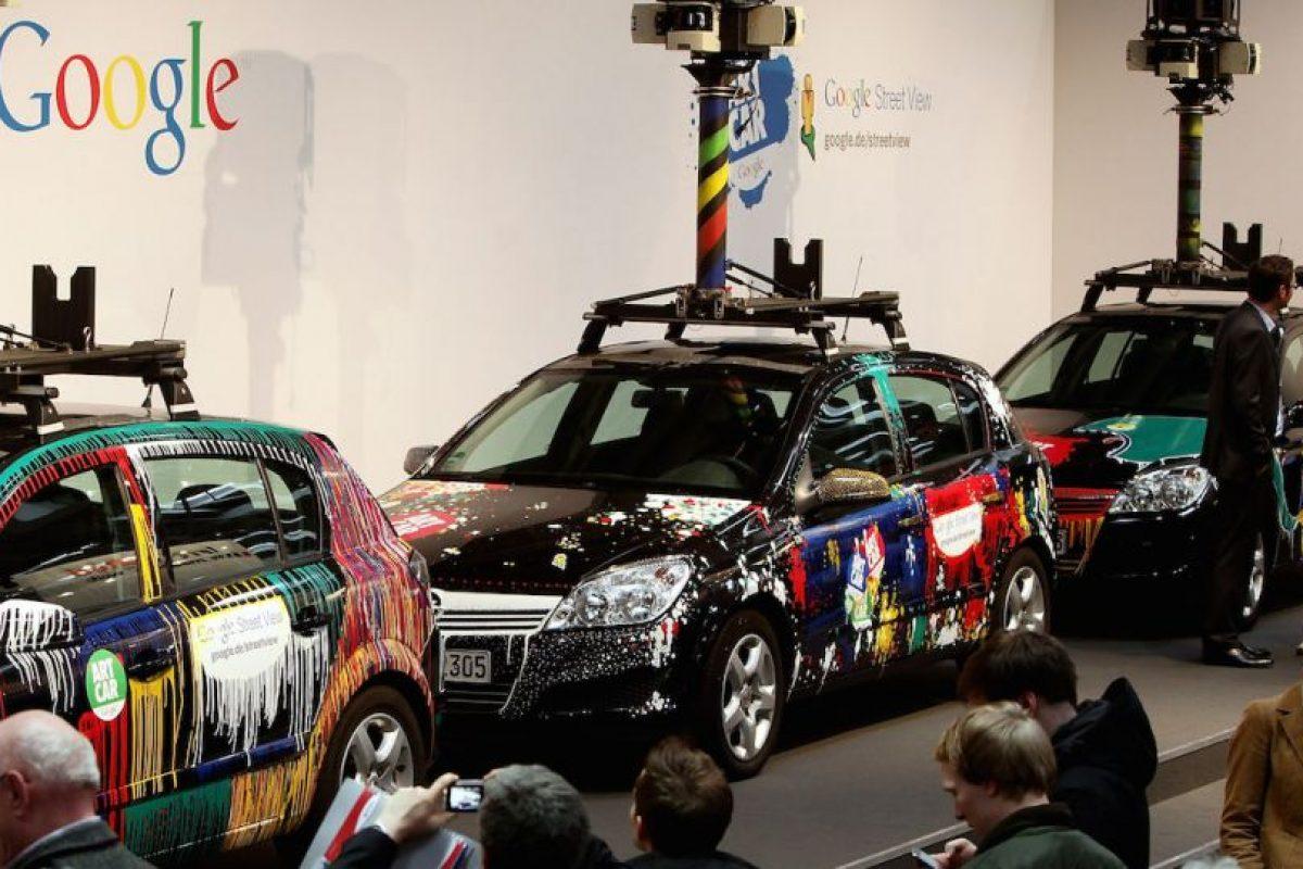 Toyota Prius modificado para funcionar como vehículo autoconducido durante una prueba Foto:Getty Images. Imagen Por:
