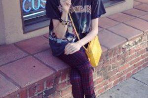 """Y ha peleado agriamente con Kendall Jenner, a la que acusó de """"frívola"""" y con Lana del Rey, que dijo que """"desearía estar muerta"""". Ella le recordó que tuvo un padre que no conoció precisamente por pensar eso. Foto:vía Twitter/Frances Bean Cobain. Imagen Por:"""