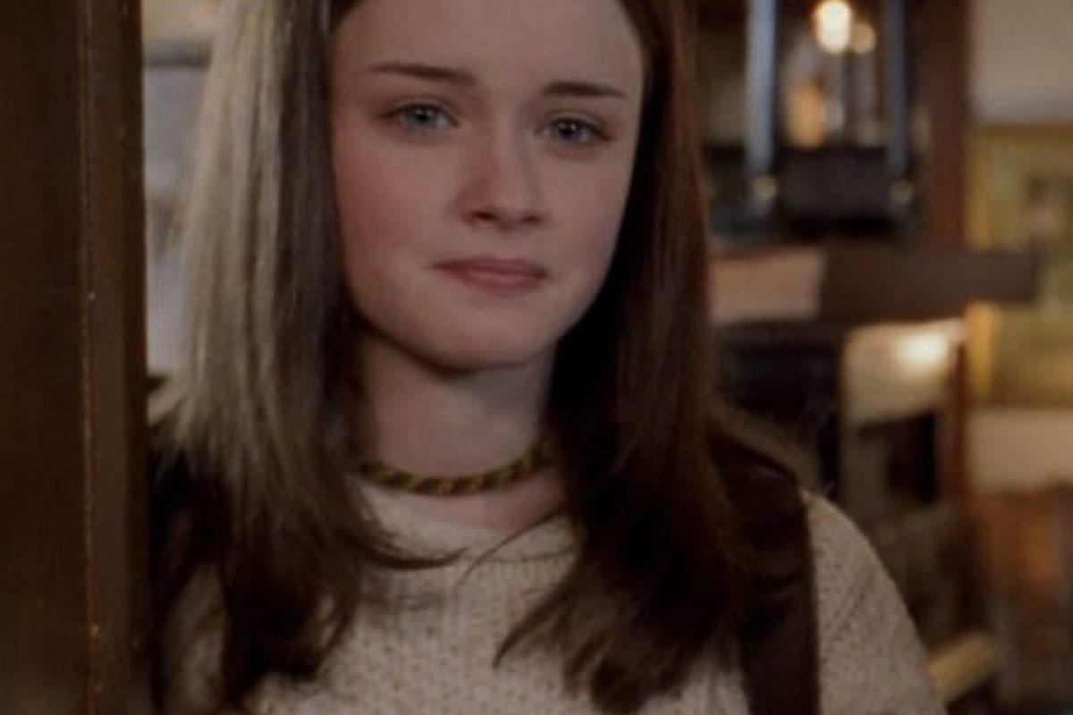 """Alexis Bledel era """"Rory Gilmore"""". Foto:vía The CW. Imagen Por:"""