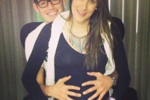 Así lucía en su embarazo de Salomé. Foto:Vía instagram.com/daniela_ospina5. Imagen Por: